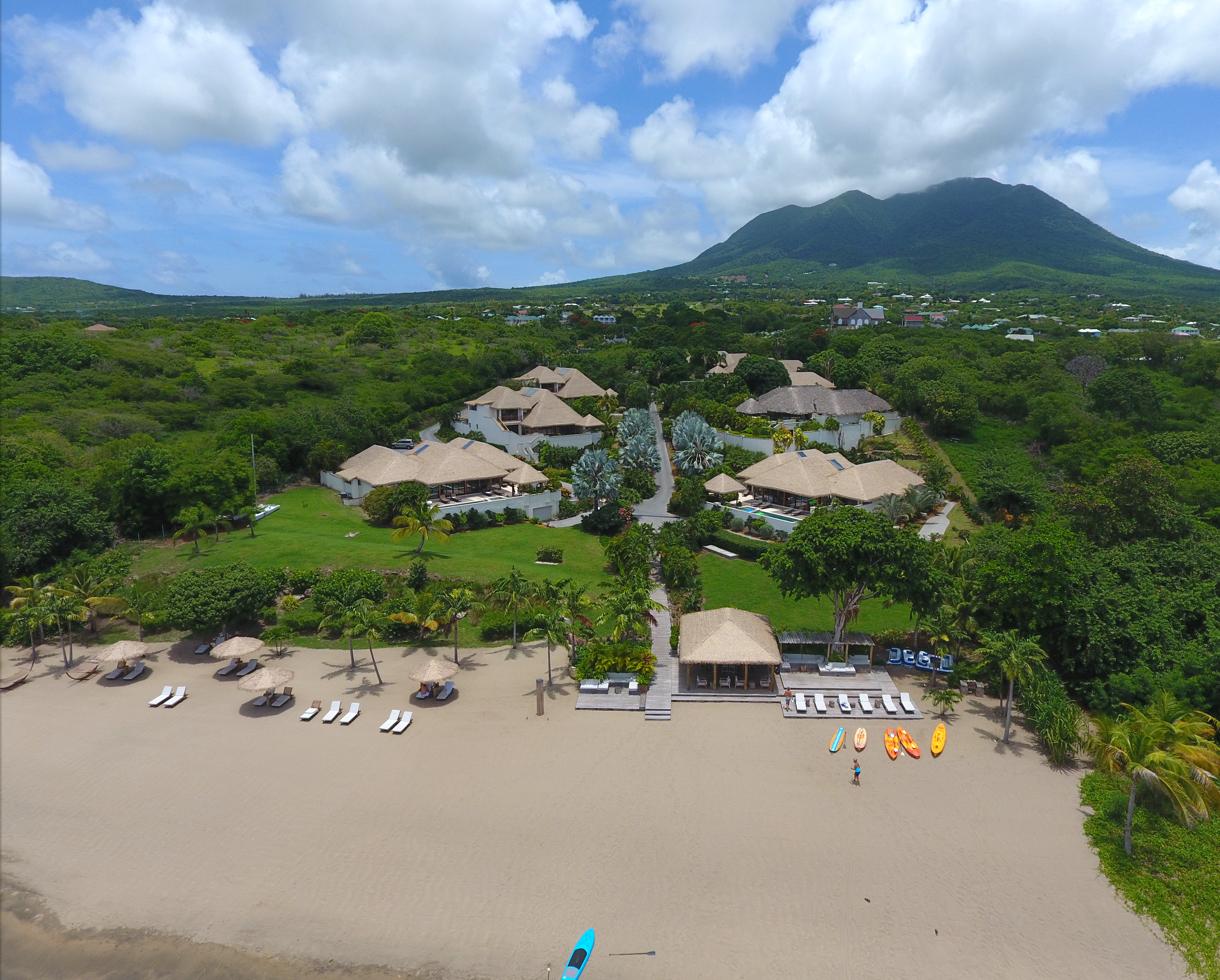 Paradise Beach Nevis Caribbean villas