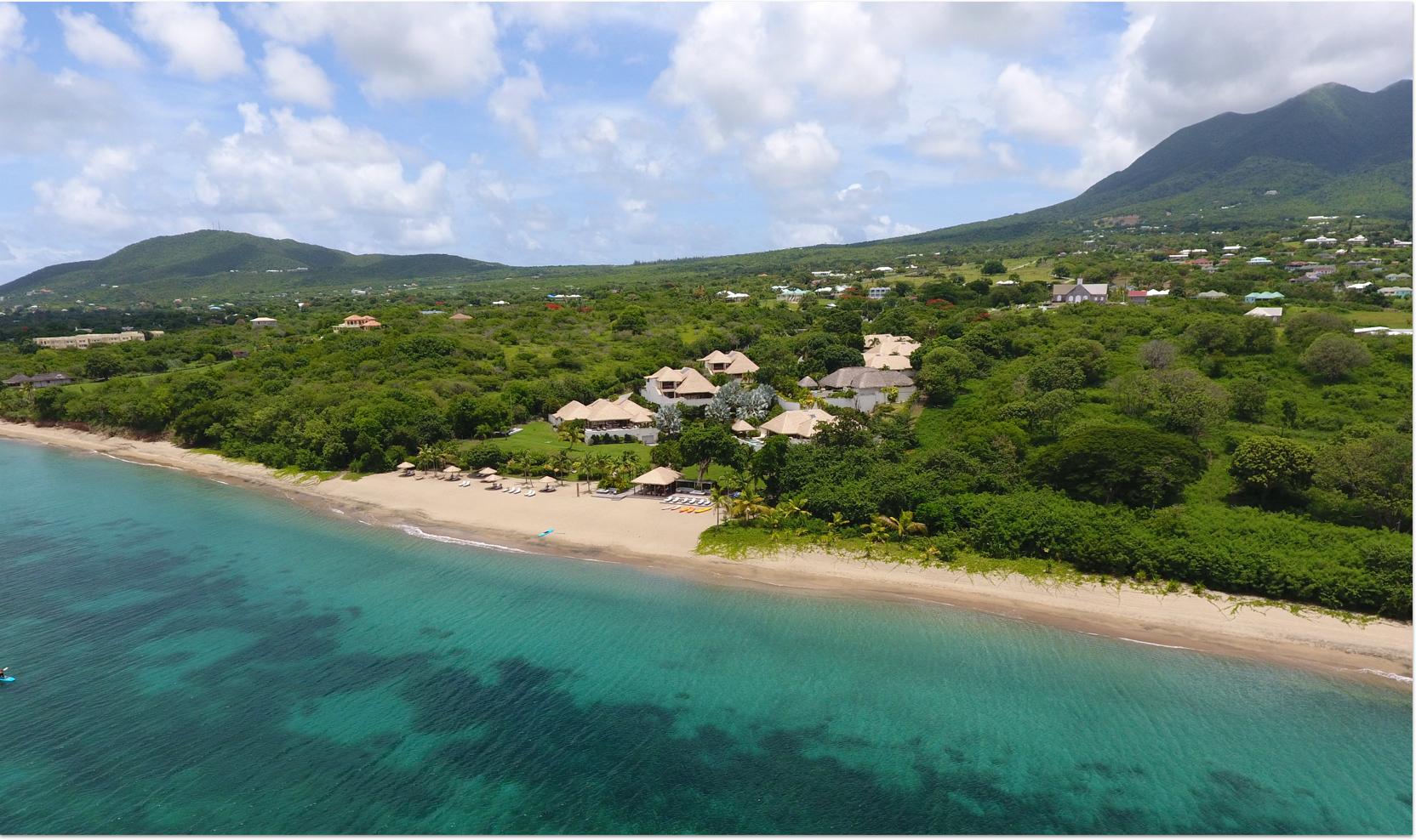 Paradise Beach Nevis Caribbean resort