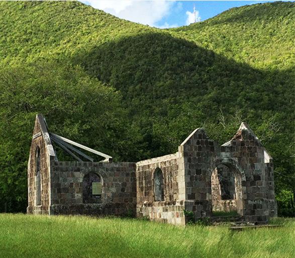 Caribbean history Nevis
